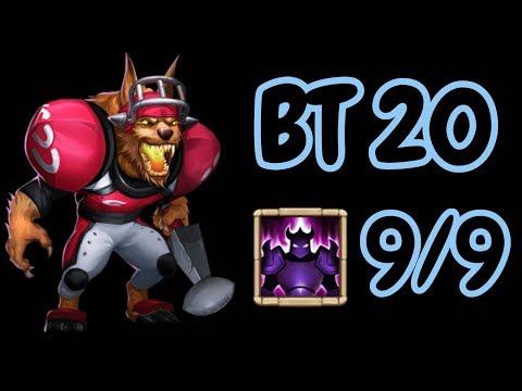 9/9 Wicked Armor 20BT Anubis L Castle Clash