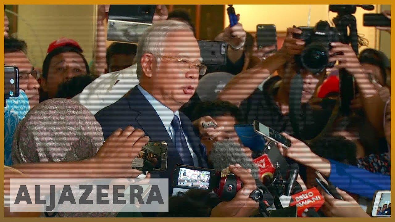 🇲🇾 Malaysian ex-PM Najib hit with 25 new charges over 1MDB scandal | Al  Jazeera English