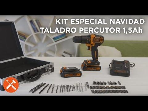 Taladro Percutor 18V 1.5Ah Litio | BLACK+DECKER