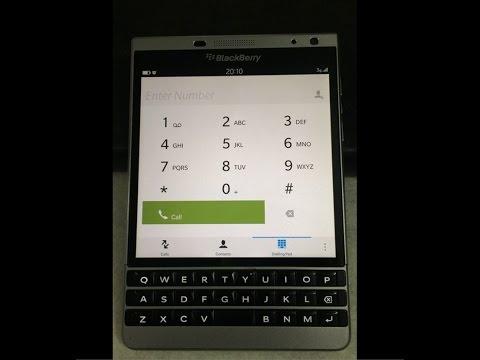Cách tắt âm bàn phím blackberry passport chỉ 30s