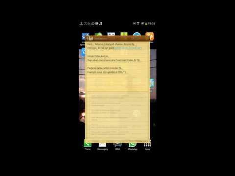Beginilah cara download video di facebook tanpa menggunakan aplikasi tambahan, menyimpan Video fb