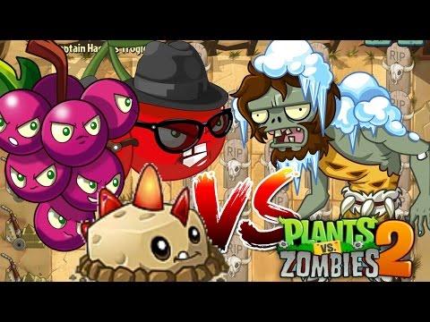 Plants vs Zombies 2 Epic Hack : Boombastik 3 vs Troglobite