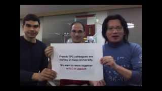 We want the ILC! by David Attie, Philippe Gros and Katsumasa Ikematsu #mylinearcollider