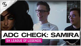 SAMIRA OP.. ADC CHECK | FEAT. CROWNSHOT & JESIZ | SK LEC