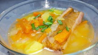 Гороховый суп в медленноварке #kitfort #медленноварка #рецепты длямедленноварки #рецепты