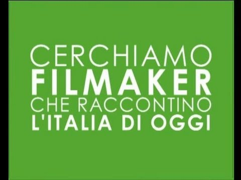 Arturo cerca filmmaker per raccontare l'Italia di oggi