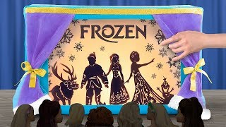 15 DIY Paper Dolls Hacks And Crafts / Frozen Shadow Theater