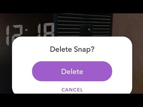 How to Delete a Snap From Your Snapchat Story | Remove a Snap From My Story