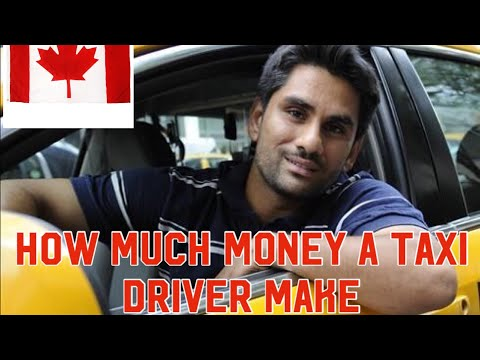 How Much Money A Taxi Driver Makes In Canada