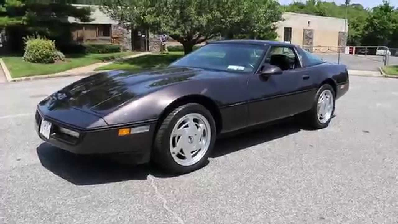 1989 corvette coupe for sale z51 6 speed only 19 135 miles beautiful. Cars Review. Best American Auto & Cars Review