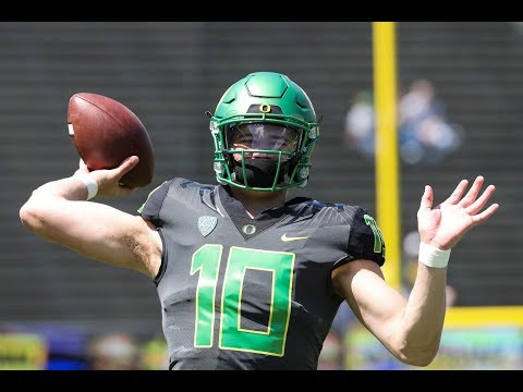 Recap: 'Thunder' defeat the 'Lightning' in Oregon's Spring Game