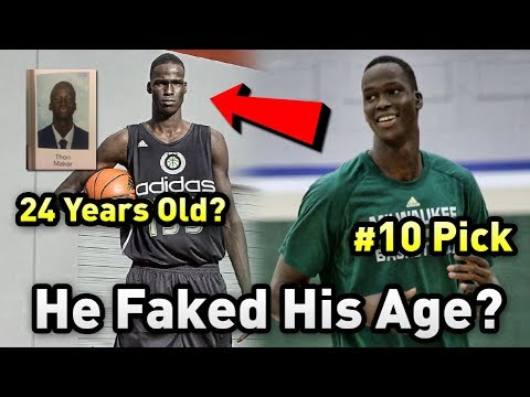 He FAKED HIS AGE To Become An NBA Player.... Or Did He?