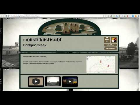 Interactive Culture and History Map