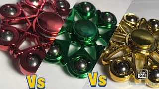 Fidget Spinner Battles Semi-Finals Red vs Green vs Yellow (Part 11 of 13)