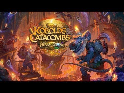 HEARTHSTONE KOBOLDS & CATACOMBS 50 (60$) PACKS OPENED - Legendaries packed!! (pt.1)