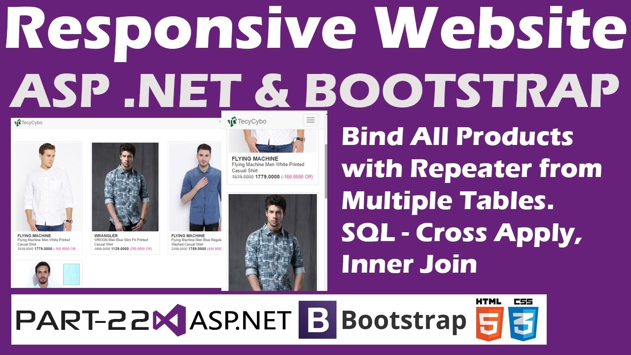 Responsive website aspbootstrap part 22 bind all products netbootstrap part 22 bind all products with repeater from multiple tables gamestrikefo Image collections