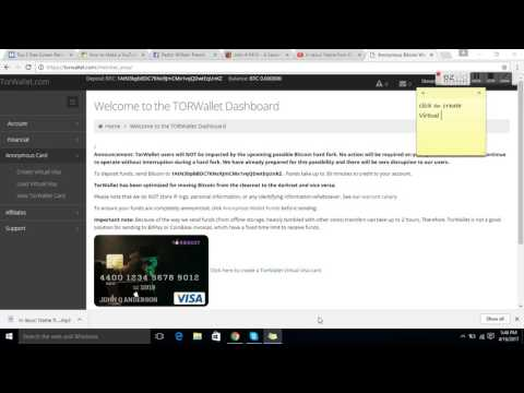 How To Get Anonymous Bitcoin Wallet + Debit Card