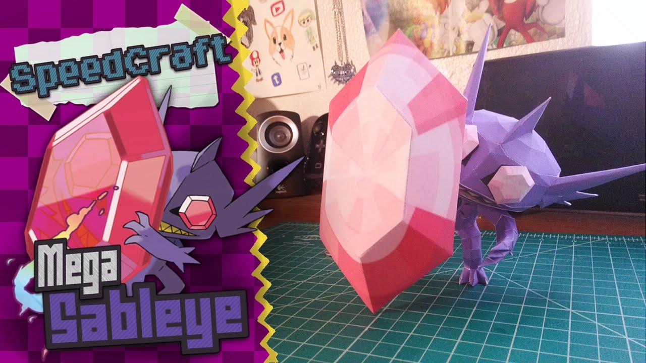 Papercraft Pokemon Papercraft ~Mega Sableye ~