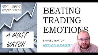 Beating Trading Emotions #tradingpsychology #tradingemotion