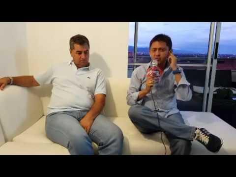"""La entrevista con Jorge """"Polilla"""" Da Silva DT de América de Cali."""