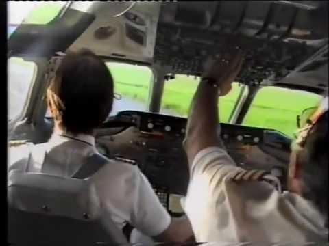 ASA DC-8-63 flight Basel-(Frankfurt)-Mombasa 1991