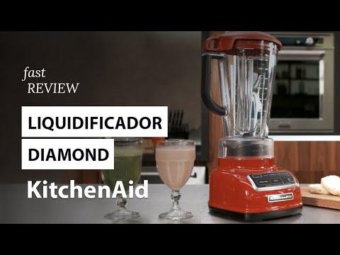 Liquidificador Diamond KitchenAid   Fast Review   Fast Shop