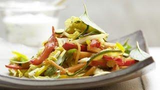 Жареные овощи на сковороде. Овощи по-гречески.