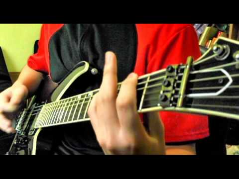 Dynasty Warriors 4 - Lu Bu Theme (guitar cover by kevin820120)