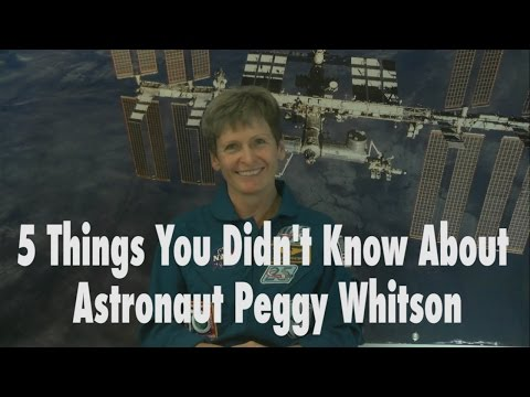 5 Things You Didn't Know About Astronaut Peggy Whitson