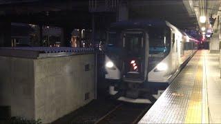 【おどりこ】E257系 特急 踊り子@新宿駅