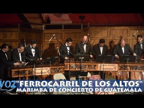 MAGISTRAL PRESENTACIÓN DE LA MARIMBA DE CONCIERTO DE GUATEMALA EN LOS ÁNGELES
