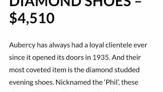 Top 20 most expensive shoes in…