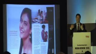 AdClub Media Review 2015 Pradeep Dwivedi