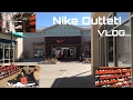 NIKE OUTLET VLOG!! FOUND OUT SOMETHING INTERESTING!! 🤔