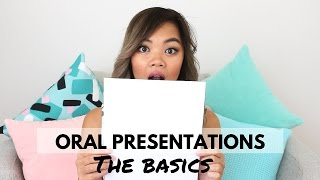 Oral presentations | Must Dos and Don