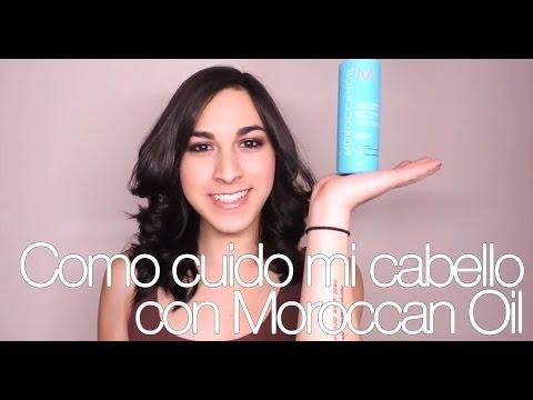 Como cuido mi cabello con Moroccan Oil