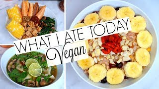WHAT I ATE TODAY ☀︎ VEGAN WEIGHT LOSS