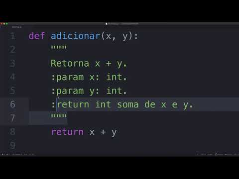 Docstrings em Python (PYTHON TUTORIAL #40) thumbnail