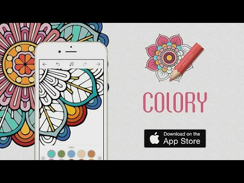 COLORFY COLORING BOOK APP FOR ANDROID TRAILER HD OFFICIAL