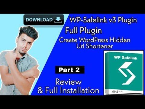 Wp-Safelink WordPress Plugin | Free Download | Full Installation