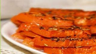 видео Тыква, запеченная с сахаром в духовке: рецепт с фото