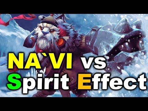 NAVI vs Effect Spirit - Kiev Major CIS Qualifier DOTA 2