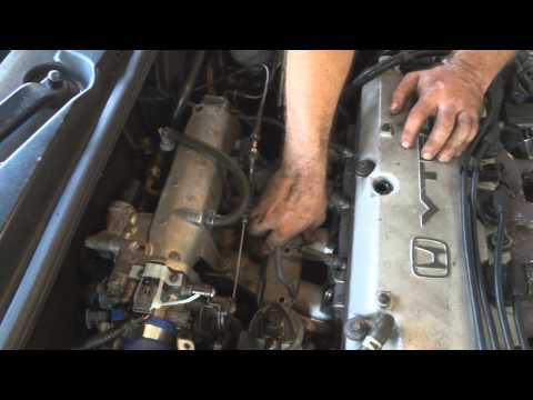 Cleaning the egr system on a 1994 honda accord