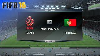 FIFA 16 - Poland vs. Portugal