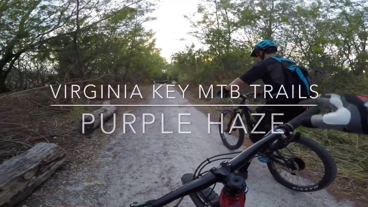 Virginia Key MTB Trails - Purple Haze (Complete) - Ibis Mojo 3 - May ...