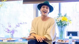 Johnny Weir Q&A: Yuri on Ice and More, April 2017