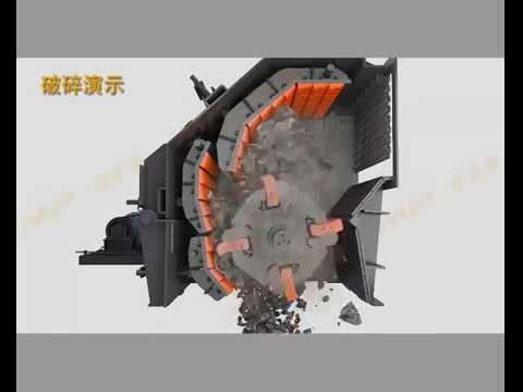 Молотковая дробилка (анимация) купить дробилку молотковую МП Минералс Роторная дробилка