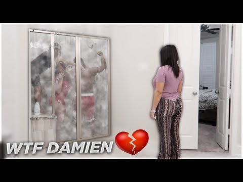 CAUGHT IN THE SHOWER PRANK WITH CARMEN FROM CARMEN & COREY 💔