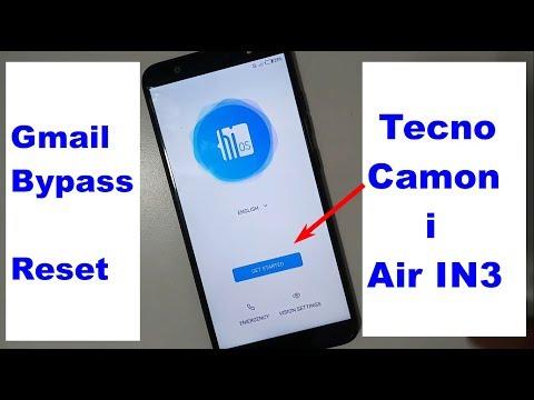 Tecno Camon I Air IN3 Google lock reset Frp NEW 2018
