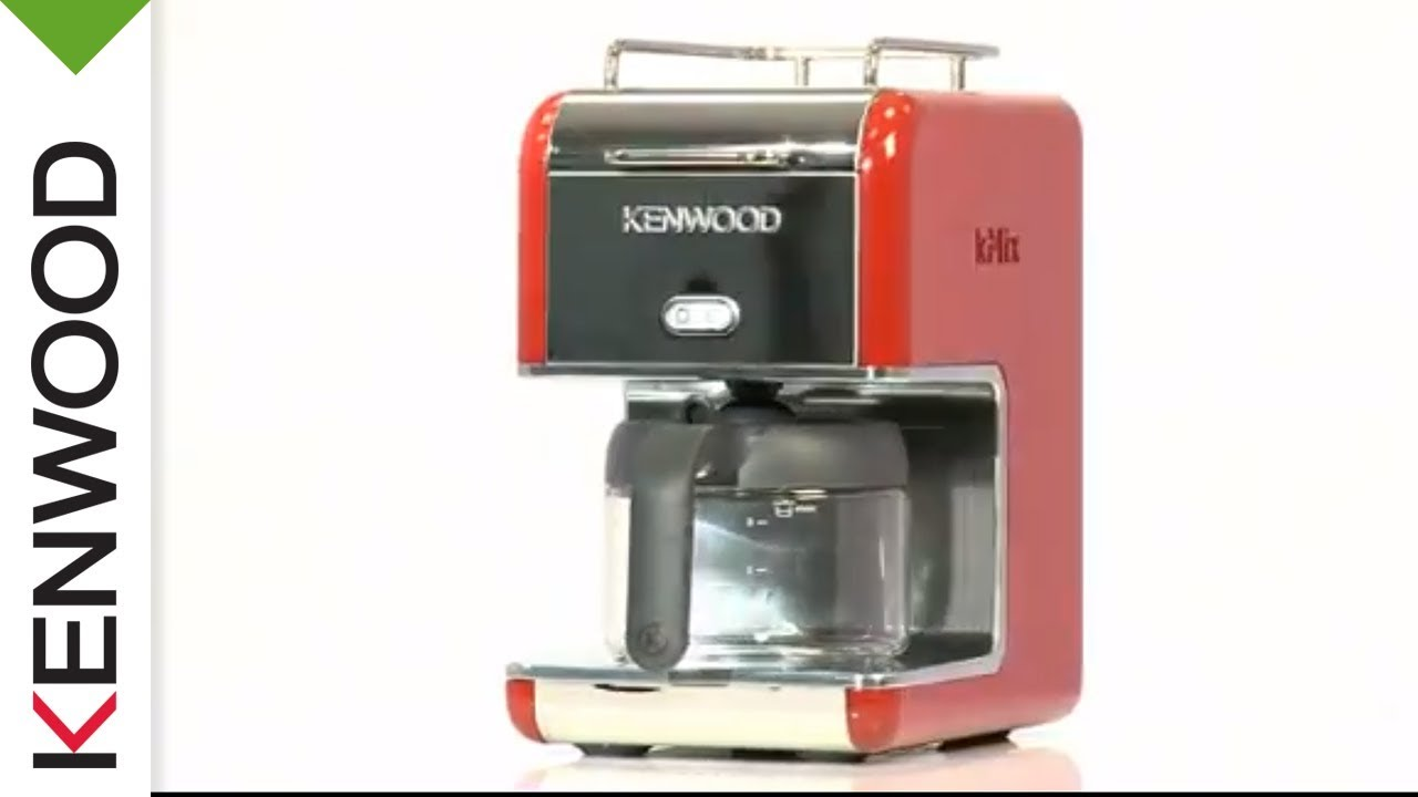 kenwood kmix cm021 kaffeemaschine produkt video youtube. Black Bedroom Furniture Sets. Home Design Ideas